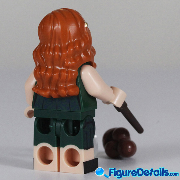 Lego Ginny Weasley Minifigure with Smirk face Review - Lego Collectible Minifigures Harry Potter Series 2 5