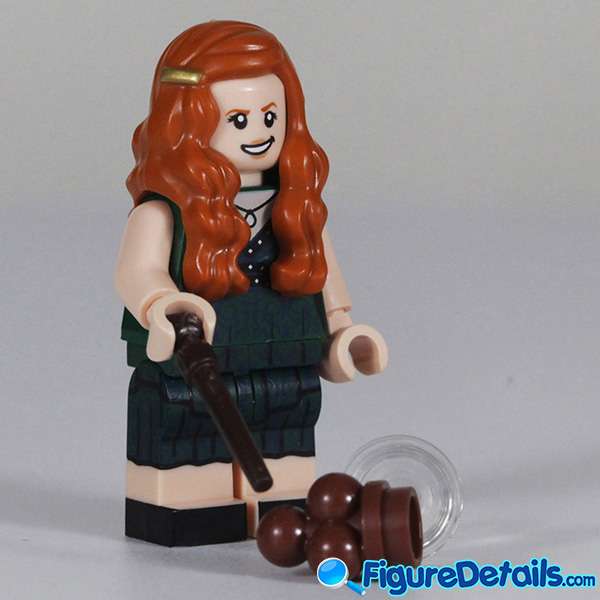 Lego Ginny Weasley Minifigure with Smirk face Review - Lego Collectible Minifigures Harry Potter Series 2 6