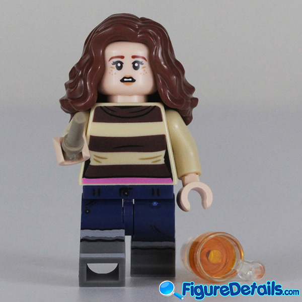 Lego Hermione Granger with startled face Minifigure Review - Lego Collectible Minifigures Harry Potter Series 2 2