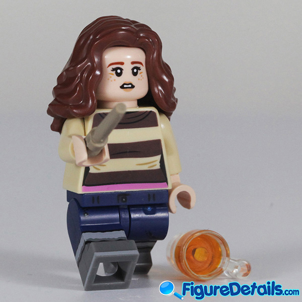 Lego Hermione Granger with startled face Minifigure Review - Lego Collectible Minifigures Harry Potter Series 2 6