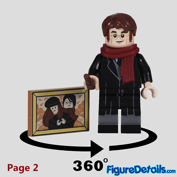 Lego James Potter Minifigure with smile face Review - Lego Collectible Minifigures Harry Potter Series 2