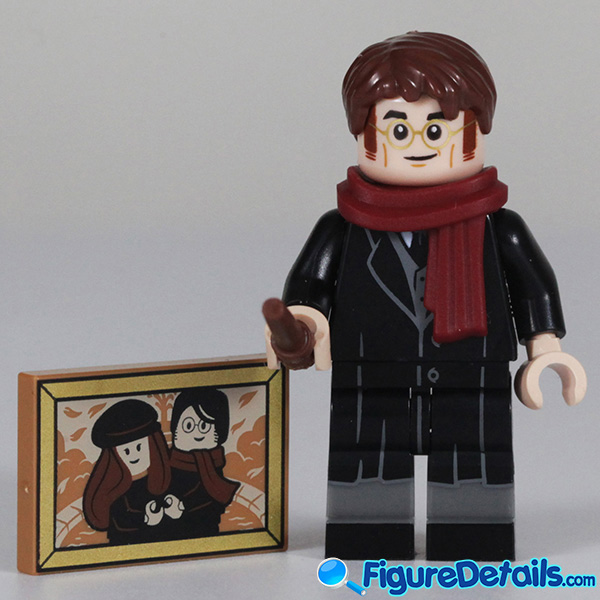 Lego James Potter Minifigure with smile face Review - Lego Collectible Minifigures Harry Potter Series 2 2
