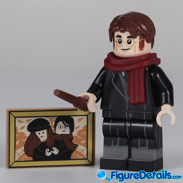 Lego James Potter Minifigure with smile face Review - Lego Collectible Minifigures Harry Potter Series 2 3
