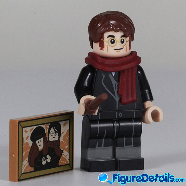 Lego James Potter Minifigure with smile face Review - Lego Collectible Minifigures Harry Potter Series 2 6
