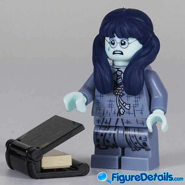 Lego Moaning Myrtle Minifigure with cry face Review - Lego Collectible Minifigures Harry Potter Series 2 3