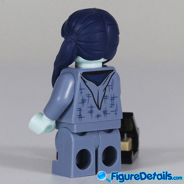 Lego Moaning Myrtle Minifigure with cry face Review - Lego Collectible Minifigures Harry Potter Series 2 4
