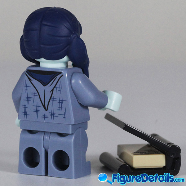 Lego Moaning Myrtle Minifigure with cry face Review - Lego Collectible Minifigures Harry Potter Series 2 5