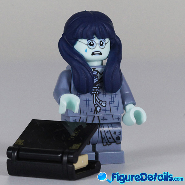 Lego Moaning Myrtle Minifigure with cry face Review - Lego Collectible Minifigures Harry Potter Series 2 6