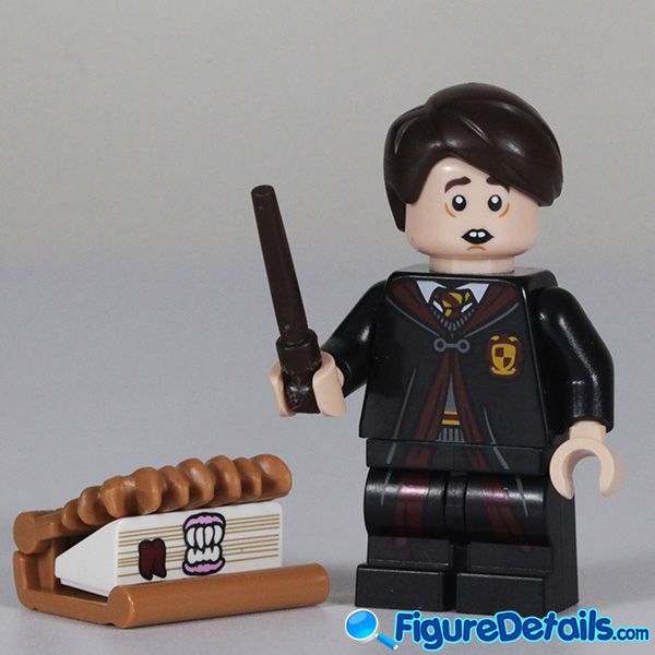 Lego Neville Longbottom Minifigure with frown face Review - Lego Collectible Minifigures Harry Potter Series 2 2