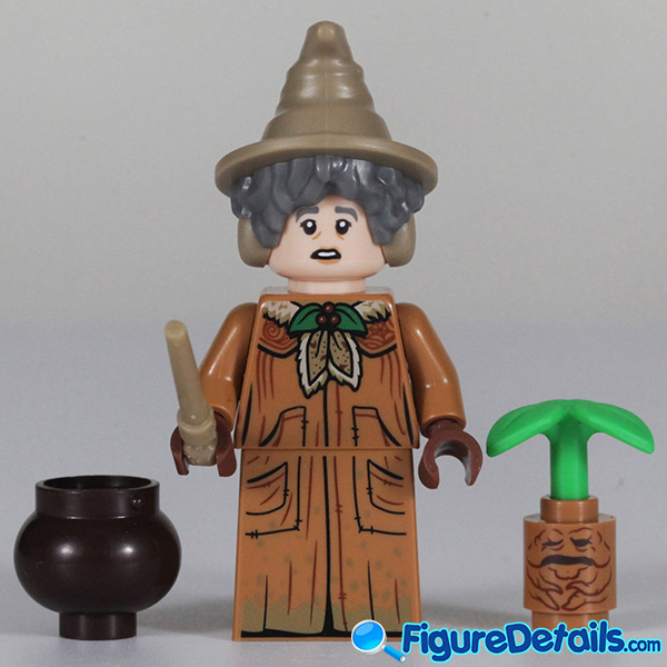 Lego Professor Sprout Minifigure with frown face Review - Lego Collectible Minifigures Harry Potter Series 2 2