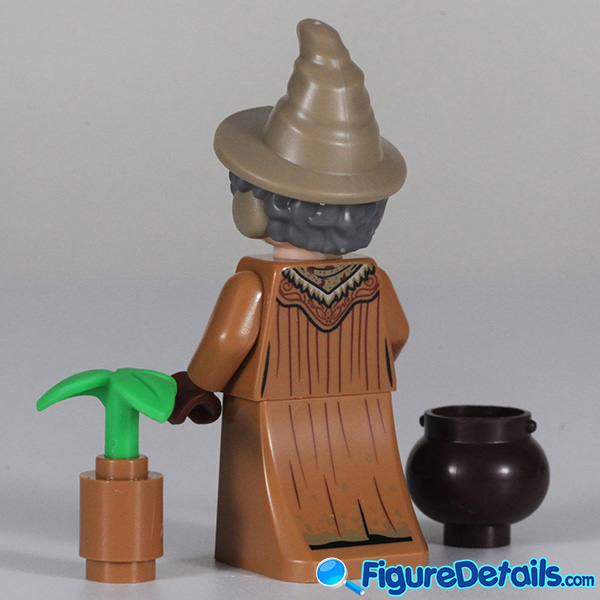 Lego Professor Sprout Minifigure with frown face Review - Lego Collectible Minifigures Harry Potter Series 2 4