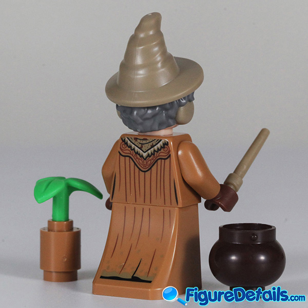 Lego Professor Sprout Minifigure with frown face Review - Lego Collectible Minifigures Harry Potter Series 2 5