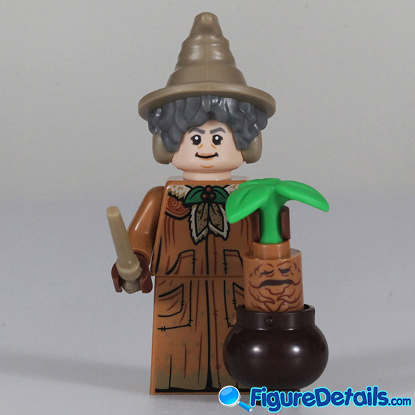 Lego Professor Sprout Minifigure Review - Lego Collectible Minifigures Harry Potter Series 2 - 71028 2