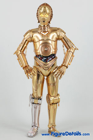 Star Wars Medicom C-3PO Action Figure Close Up