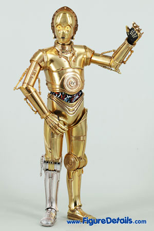 Star Wars Medicom C-3PO Action Figure Close Up 2