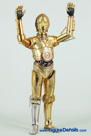 Star Wars Medicom C-3PO Action Figure Close Up 3