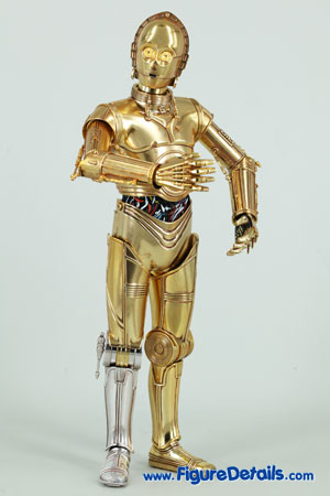 Star Wars Medicom C-3PO Action Figure Close Up 4