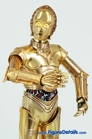 Star Wars Medicom C-3PO Action Figure Close Up 5