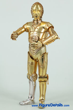 Star Wars Medicom C-3PO Action Figure Close Up 6