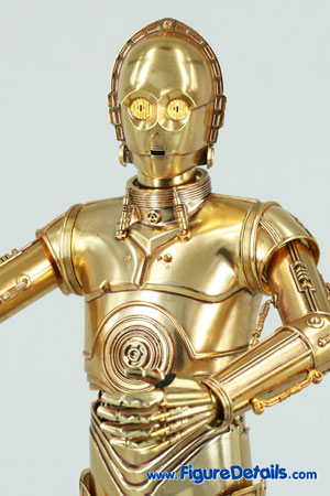 Star Wars Medicom C-3PO Action Figure Close Up 7