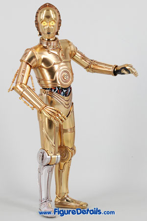 Star Wars Medicom C-3PO Action Figure Close Up 8