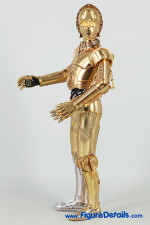 Star Wars Medicom C-3PO Action Figure Close Up 9