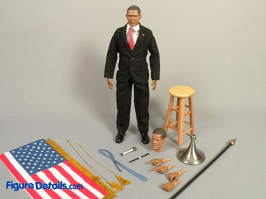 Barack Obama US President 12 inch action figure review DID Corp