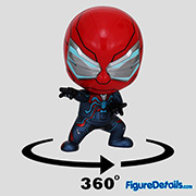Velocity Suit Spiderman Cosbaby cosb618 - Marvel Spiderman Game - Hot Toys